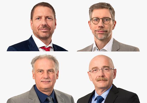 Vier Geschäftsbereichsleiter jetzt mit Prokura