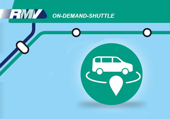 Verbundweit integrierte On-Demand-Mobilität